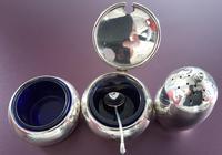 Sterling Silver Cruet Set (2 of 4)