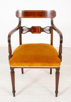Set of 6 Sheraton Revival Dining Chairs (3 of 17)
