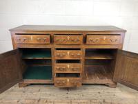 Antique George III Oak Dresser Base (5 of 7)