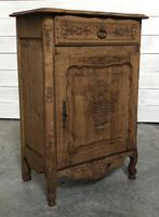 French Early Oak Small Cupboard or Cabinet (2 of 16)