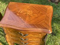Pair of French Marquetry Bedside Tables (2 of 6)