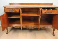 Burr Walnut Queen Anne Style Sideboard Server c.1930 (13 of 16)
