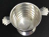 Art Deco Silver Plated Ice / Wine / Champagne Bucket (4 of 5)