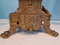 Pair of Italian Candelabra in Brass with Cherubs Vintage (2 of 8)