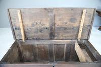 Antique English Oak Coffer (4 of 13)