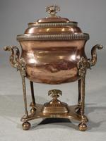Handsome & Original Regency Period Copper Tea Urn (2 of 5)