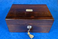 Victorian Rosewood Jewellery Box (6 of 10)