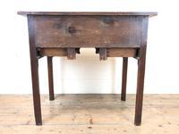 19th Century Oak Side Table (8 of 8)