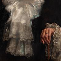 Paul-Antoine Hallez, Portrait of Lady with Umbrella (5 of 10)