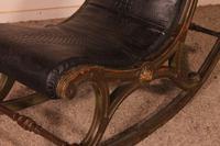 Polychrome Napoleon III Rocking Chair (8 of 10)