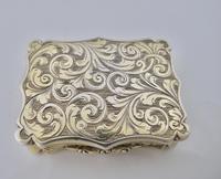 Superb Silver-gilt Vinaigrette Nathaniel Mills Birmingham 1844 (7 of 8)