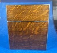 Victorian Brassbound Oak Decanter Box (11 of 20)