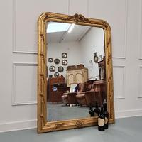 Antique French Gilded Flower Mirror (2 of 8)