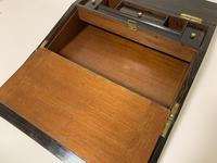 Victorian Coromandel Brass Bound Writing Slope (14 of 16)