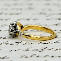 The Vintage Illusion Twist Brilliant Cut Diamond Ring (3 of 5)