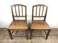Pair of 19th Century Oak Farmhouse Chairs (3 of 13)