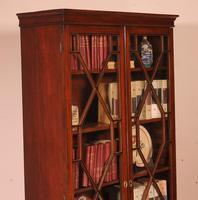 Georgian Glassed Bookcase in Mahogany & Inlays - 18th Century English (14 of 14)