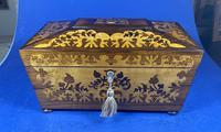 William IV Rosewood Tea Caddy (11 of 13)