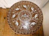 Mid 20th century Round Indian Table (5 of 5)