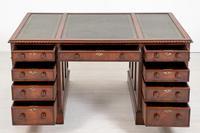 Quality Victorian Mahogany Partners Desk (5 of 9)
