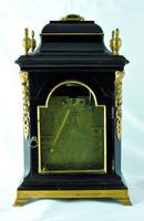 Rare Miniature Fusee Verge Bracket Mantle Clock - Made by John Johnson, London (8 of 12)