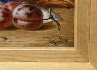 """Oil Painting Pair by Charles Thomas Bale """"Fruit and Game Larder Scenes"""" (9 of 10)"""