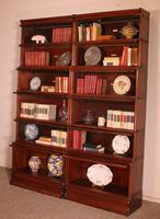 Pair of Globe Wernicke Mahogany Bookcases - 6 Elements (10 of 10)