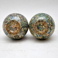 1960's Pair of Vallauris Ceramic 'Mosaic' Vases by Jean Gerbino (2 of 10)