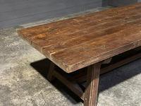 Huge Rustic French Oak Farmhouse Dining Table (30 of 35)