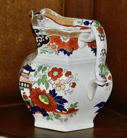 19th Century Real Stone China Jug with Chinoiserie Decoration (5 of 11)