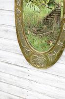 Arts & Crafts Movement Scottish / Glasgow School Large Oval Wall Mirror c.1900 (6 of 28)