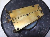 Antique Rocket Cased Single Weight Walnut 8-Day Vienna Regulator Wall Clock (12 of 14)