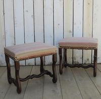 Pair of Os De Mouton Foot Stools (7 of 7)