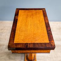 Bird's Eye Maple Folding Table (9 of 12)