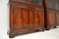 Pair of Antique Georgian Style Mahogany Bookcases (5 of 11)