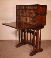 Spanish Renaissance Cabinet Bargueno in Walnut - Early 17th Century (11 of 18)