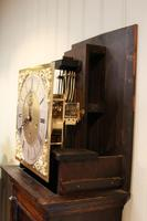 Small Oak Westminster Chime Longcase Clock (9 of 10)