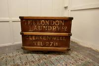 London Laundry Co. Industrial Trolley Cart (2 of 5)