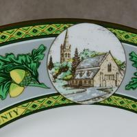 "Limited Edition Caverswall ""Rutland County"" Plate (5 of 8)"