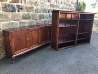 Antique Mahogany Library Bookcase (12 of 13)