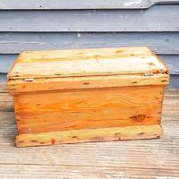 19th Century Carpenters Trunk with Shipwreck Finish (2 of 8)