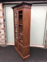 Arts & Crafts Glazed Oak Bookcase (8 of 11)