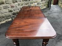 Antique Mahogany Wind Out Extending Dining Table (9 of 12)