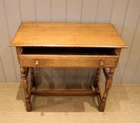 Light Oak Hall Table (4 of 11)