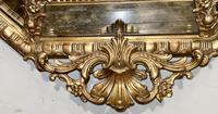Large Gilt Cushion Mirror (2 of 9)