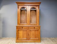 Victorian Oak Library Bookcase (5 of 6)
