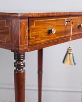 Regency Mahogany Work Table (3 of 6)