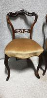 Pair of Victorian Rosewood Hall Chairs (5 of 7)