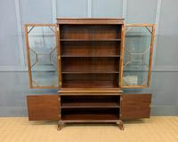 Burr Walnut Bookcase by Jas Shoolbred (6 of 19)