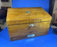 Victorian Walnut Stationary Box (15 of 15)